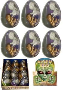 6 X Doppel Baby Alien Ei & Slime Earhpods Party Geschenk Beutel Füller N14 154