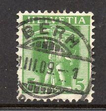 Switzerland Fine Postmark 1909 on 5c. 062031