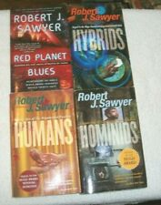 Lot Of 4 Science Fiction Paperbacks By Robert J. Sawyer