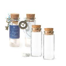 Reagenzglas 6 Stk. Reagenzgläser ca. 3 x 8 cm Gastgeschenk Reagenzröhrchen