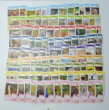 Woolworths TARONGA Super Animal Cards (Blue) - Full Set of 108 Cards (No Folder)