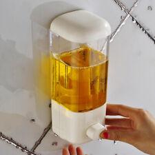 500ml Wall Mount Soap Dispenser Shampoo Liquid ABS Bathroom Shower Supplies