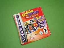 GameBoy Advance Box & Instruction Manual - Crash Nitro Kart & Spyro 2 (no game)