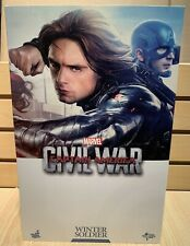 Hot Toys Winter Soldier Captain America Civil War MMS351 MIB 1/6 scale Marvel