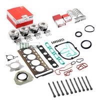 Engine Repair Pistons Gaskets Bearing Overhaul Kit for 2.0TFSI Audi VW CDN CCZB