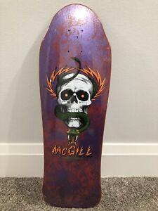 Powell Peralta Mike McGill OG Original Skateboard 80s NOS Vintage Skull Snake