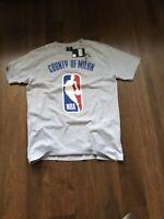 Marcelo Burlon X NBA Grey Shirt   New 265 Euro Rare Supreme Box Logo