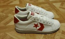 Converse Cons Pro Leather Ox Low 162869C Men 10 Chevron White/Red Brand New