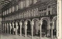 Ravenna Italien s/w AK ~ 1910 Chiesa di S. Apollinare Nuovo Arkaden ungelaufen