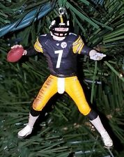 ben ROETHLISBERGER pittsburgh STEELERS football xmas NFL ornament JERSEY holiday
