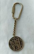 TEN PENCE 2013. ELIZABETH, United Kingdom, vintage keychains !