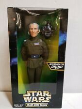 "1997 Kenner Star Wars 12"" Action Figure Grand Moff Tarkin New In Box"