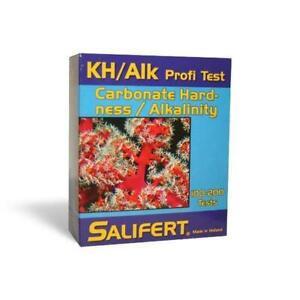 SALIFERT CARBONATE HARDNESS & ALKALINITY (KH/ALK) AQUARIUM WATER TEST KIT