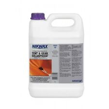 NIKWAX TENT & GEAR SOLARPROOF CONCENTRATE 5 LITRE REFILL UV PROTECTOR