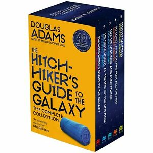 The Hitchhiker's Guide to the Galaxy Complete Collection 5 Books Boxset