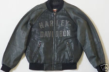 Harley Davidson Men's 100th Anniversary Centennial Leather Jacket 97402-03VM L