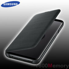 GENUINE Samsung Galaxy S9 SM-G960 LED View Display Flip Cover Case Leather