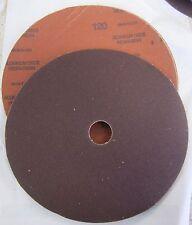 "7""Sanding Discs 25 pk 120 Grit Usa Made Cloth Sandcap Sia"
