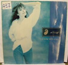 ALICE - IL SOLE NELLA PIOGGIA - LP  Inserto - Carla Bissi