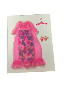 Vintage Francie NIGHT BLOOMS #1212 Night Gown Outfit Barbie