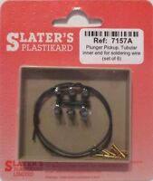 Slaters 7157A - 7mm (0) Plunger Pickups for Soldering to 6 Sets - 1st Class Post