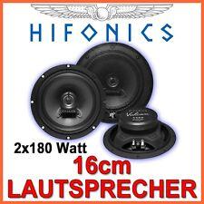 Hifonics Vulcan VX62  - 16cm 2-WEGE Koax Lautsprecher BOXEN SET PAAR 160mm AUTO
