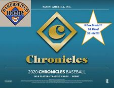 🔥⚾ATLANTA BRAVES-2020 Chronicles Baseball 8 Box Break (1/2 Case) 32 Hits!