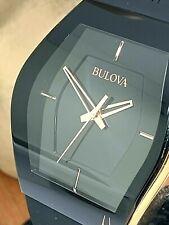 Bulova Men's Watch 97A164 Latin Grammy Special Edition Quartz Rose Black Rubber