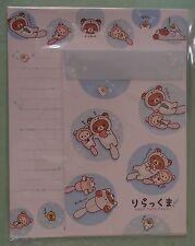 San-X Letter Sets Rilakkuma Swim