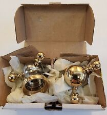 MODE Mono Basin Mixage Chrome/Antique Gold with Pop Up Waste.  #865