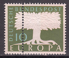Germany Federal Mi. No. 268 DZ MINT striking doppelzähnung RARE! (7575)