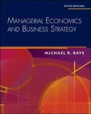 Managerial Economics & Business Strategy + Data Disk Baye, Michael Hardcover