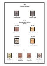 Album de timbres Réunion + CFA à imprimer