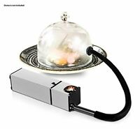 Portable Electric Food Drink Smoke Infuser Smoker Machine BBQ Flavor Food Drink
