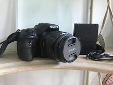 Sony Alpha SLT-A58 20.4MP Digital SLR Camera - Black (Kit w/ DT SAM II...