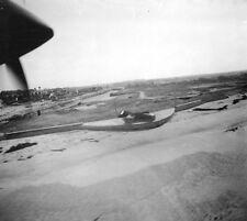 6x4 Gloss Photo ww760 Normandy D-Day Jb Juno Beach Vue Aerienne