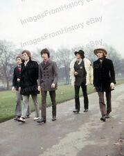 8x10 Print The Rolling Stones Mick Jagger Brian Jones #STO