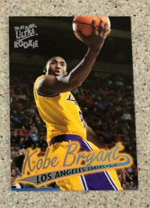 1996-97 Fleer Ultra Kobe Bryant #52 Rookie Card RC Los Angeles Lakers