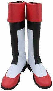 Voltron Legend Keith Lance Boots Cosplay Artificial Leather : Size 5.5 Women's