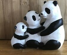 3 Latex Moulds for making this Stunning Panda Family