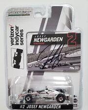 Greenlight 2017 Indy 500 Josef Newgarden #2 Autographed Signed 1:64 Scale COA