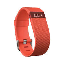 NEW Fitbit Charge Heart Rate Monitor and Activity Tracker,  Orange, L