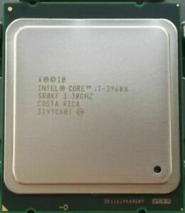 Intel Core i7-3960X Processor Extreme Edition15M Cache, up to 3.90 GHz 6 Cores