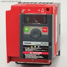 INVERTER TOSHIBA PER MOTORE VFnC3 230V HP 1.5 e 2     kW 1,1 e 1,5