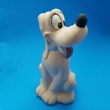 "Vintage Pluto 9"" Ceramic Hand Painted Statue Figurine Needs Repainting"