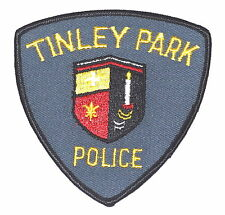 TINLEY PARK ILLINOIS IL Police Sheriff Patch CANDLE CITY SEAL LOGO ~