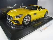 MERCEDES BENZ AMG GT C ROADSTER 2017 1/18 NOREV (YELLOW METALLIC)