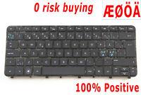 For HP Folio 13 13-1000eo 13-2000 673656-DH1 Keyboard Nordic Swedish Norsk Dansk