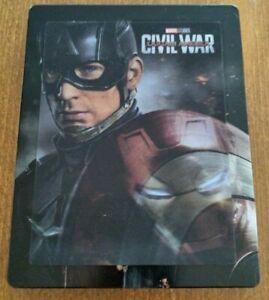 "Steelbook ""Captain America : Civil War"" de Anthony et Joe Russo"