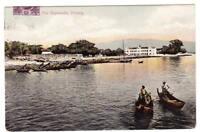 Malaya STRAITS SETTLEMENTS-SG#128-folded(single frank)-SINGAPORE NO/27/1907